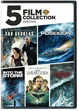 New! 5 Film Favorite Collection: Survival (3-Dvd Set, 2018)