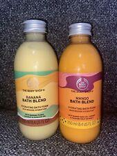 The Body Shop Bath Blend Duo. Banana And Mango Bath Blend.