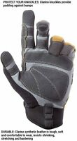 CLC Custom Leathercraft 160M Contractor XtraCoverage Flex Grip Work Gloves,...