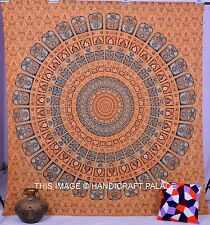 Indian Hippie Tapestry Elephant Mandala Wall Hanging Tapestries Queen Bedspread