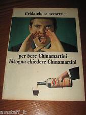 *155=CHINA MARTINI AMARO=ANNI '60=PUBBLICITA'=ADVERTISING=WERBUNG=PUBLICITE=