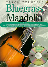 Teach Yourself Bluegrass Mandolin Learn to Play Easy Lesson Music Book & CD
