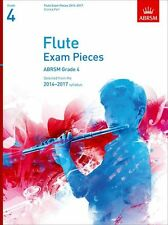 ABRSM Exam Pieces 2014-2017 Flute Piano Learn to Play Student Music Book Grade 4