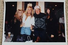 Motley Crue Vince Neil Original 1980s Personal Photograph Planet Hollywood 8x10