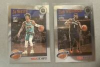 2020 NBA HOOPS PREMIUM STOCK LOT 2 TRIBUTE CARD JA MORANT & ZION WILLIAMSON 🔥📈