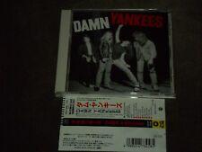 Damn Yankees Japan CD Tommy Shaw Ted Nugent Jack Blades Alan Pasqua