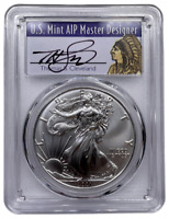 2021 (S) American Silver Eagle PCGS MS70 Emergency Thomas Cleveland FS 4387