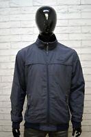 Giubbotto Blu Uomo WRANGLER Taglia XL Giacca Cappotto Jacket Man Primaverile