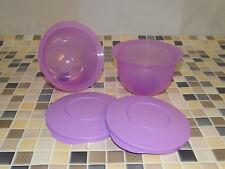 Tupperware J 45 Junge Welle, Kleine Schüsseln 550 ml pink-rosa (2) NEU