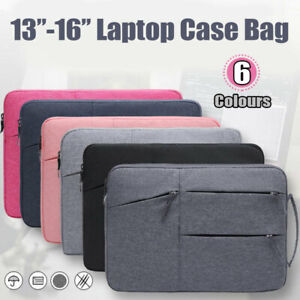 """Laptop Sleeve Travel Bag Carry Case For MacBook Air Pro 13"""" 15"""" 16"""" Lenovo Dell"""