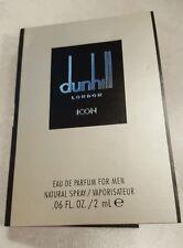 Dunhill London Icon eau de Parfum for men sample .06 oz
