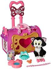 Minnie Mouse Pet Carrier Play Set Kids Toddler Toys Girl Gift Cat Kitten NEW