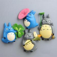 4pcs Miyazaki Hayao My neighbor totoro Lovely Cartoon Figure Fridge magnets Gift