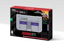 NEW Nintendo 3DS XL Super Nintendo SNES Edition [NN3DS XL Console, Mario Kart]