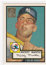 MICKEY MANTLE Topps ROOKIE CARD Commemorative INSERT Reprint RC Baseball YANKEES