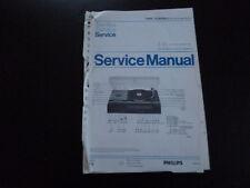 Original Service Manual Philips 22AH963