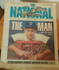 """The National Sports Daily August 15, 1990 Nolan Ryan """"THE MAN""""   VINTAGE"""