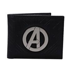 Genuine Marvel Comics Avengers Logo Bi-Fold Wallet Gift Boxed Iron Man