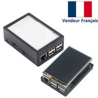 "3,5 ""HDMI mini écran tactile LCD Display + étui ABS pour Raspberry pi 3B +/3B/2B"