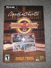 Agatha Christie Hidden Object Classic Mysteries Computer Game Puzzles. Pc Cd-rom