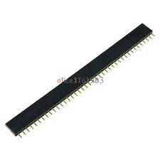 50PCS 40Pin 2.54mm  Single  Row Straight  Female Pin Header Strip PBC Ardunio