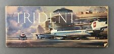 HAWKER SIDDELEY TRIDENT MANUFACTURERS SALES BROCHURE SEAT MAPS BEA