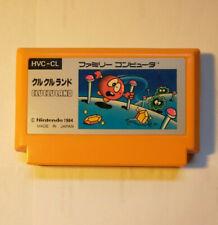 Clu Clu Land (Nintendo Famicom FC NES, 1984) Japan Import