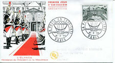 FRANCE FDC - 286a 1192 1 PALAIS DE L'ELYSEE 10 2 1959