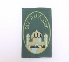 GERMAN ARMY TURKISTAN 3.RD ISSUE VOLUNTEERS SLEEVE SHIELD