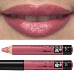 Maybelline Pink Lipstick Chubby Stick Lip Crayon Color Drama Minimalist 140 New