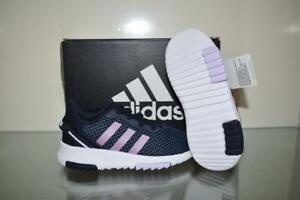 adidas FX7286 Infant Girls' TR 2.0 Running Shoes Navy/Purple 8K NIB