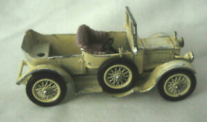 """Lesney Diecast Car Models of Yesteryear Daimler  1911 Made in England 3"""" No. Y13"""