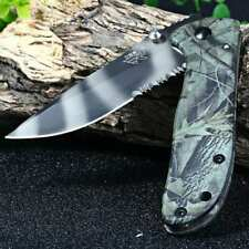 HQ Sanrenmu 7007 Folding Pocket knife Camouflage 16.5 cm / 6.50 inches  w/ clip