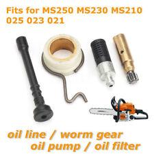 Oil Line Pump Filter Worm Gear Fr Stihl MS250 MS230 MS210 025 023 021 Chainsaw #