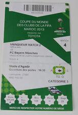 old ticket 2013 FIFA Club World Cup Guangzhou Evergrande Bayern Munchen China