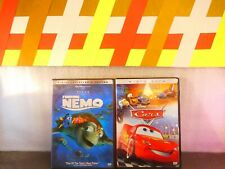 Lot Of 2 Finding Nemo Collector's Edition / Cars (Dvd,