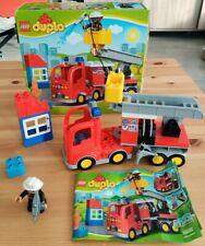 Lego Duplo 10592 - Le Camion de Pompier - avec boite et notice