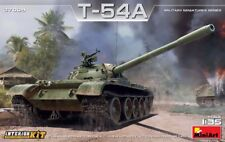 Miniart 1/35 T-54A tanque soviético con Interior Kit # 37009