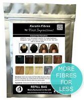 100% Natural Keratin Hair Building Fiber Refill For Hair Loss & Balding