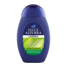 Felce Azzurra Men Shampoo and Shower Power Sport Dynamic 250ml 8.45 fl oz