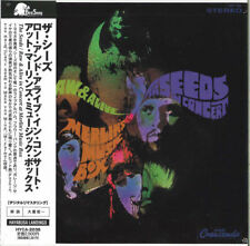 SEEDS-RAW & ALIVE IN CONCERT AT -JAPAN MINI LP CD 0119 F25