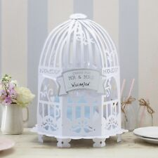 BIRDCAGE STYLE WEDDING CARD POST BOX / Receiving Box / Wishing Well-Vintage Lace
