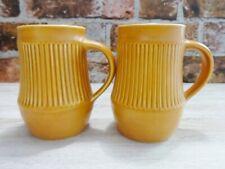 More details for holkham pottery mug x 2 vintage