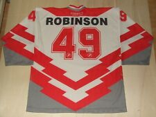 Maillot Ice Hockey Glace Sport Suisse Suisse Robinson 49 Taille XL