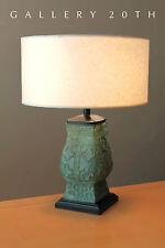 SUPERB & RARE! MID CENTURY SHANG DYNASTY SCULPTURAL LAMP! VTG 1950S CHINA VESSEL