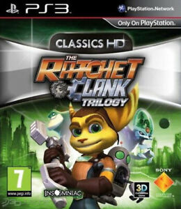 Ratchet and Clank Trilogy Classics HD PS3