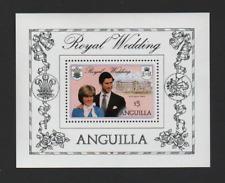 ANGUILLA 1981 ROYAL WEDDING M/SHEET *VF MNH*