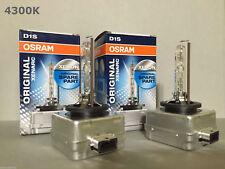2PCS NEW OEM OSRAM XENARC D1S 66144 66140 4300K HID XENON LIGHT BULBS SET