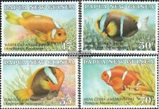 Papoea-Guinee 539-542 (compleet.Kwestie.) postfris MNH 1987 Anemonenfische