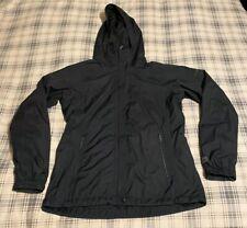 Women's Columbia WORN Rain Coat Jacket Size Medium Black